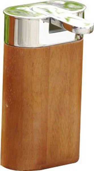 Seifenspender holz eiche  Formschöner Seifenspender aus Eiche massiv und hochwertig ...