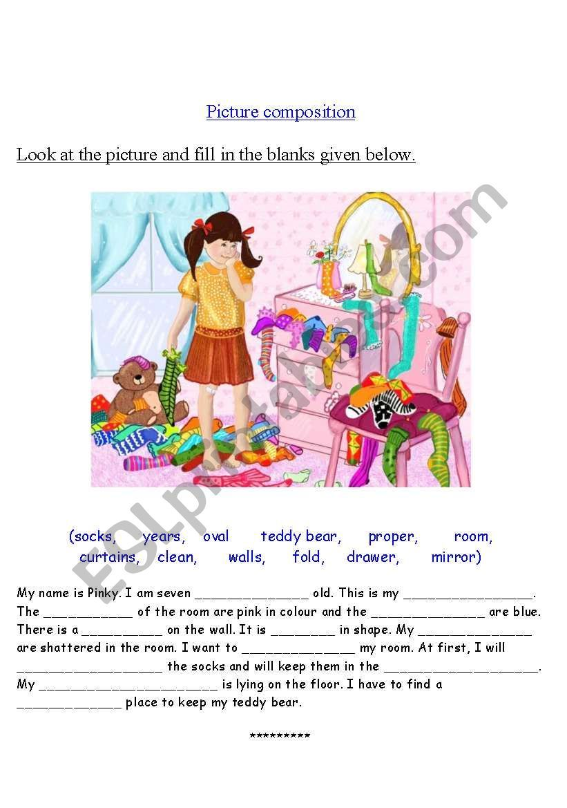 This Is A Worksheet On Picture Composition Hope This Is Useful Mrs Krishna Picture Composition Reading Comprehension Worksheets Picture Comprehension [ 1169 x 821 Pixel ]