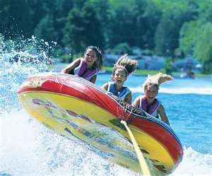 Summer is my favorite season, and water tubing is one of my favorite things to do in the summer!!