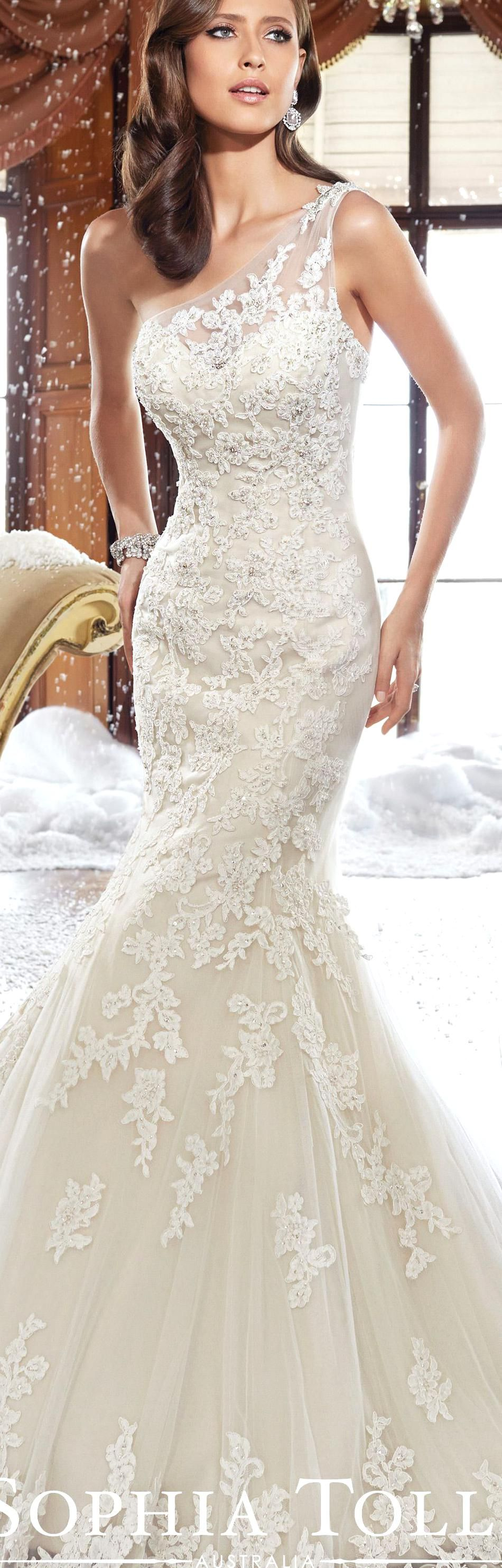 The Sophia Tolli Fall 2015 Wedding Dress Collection