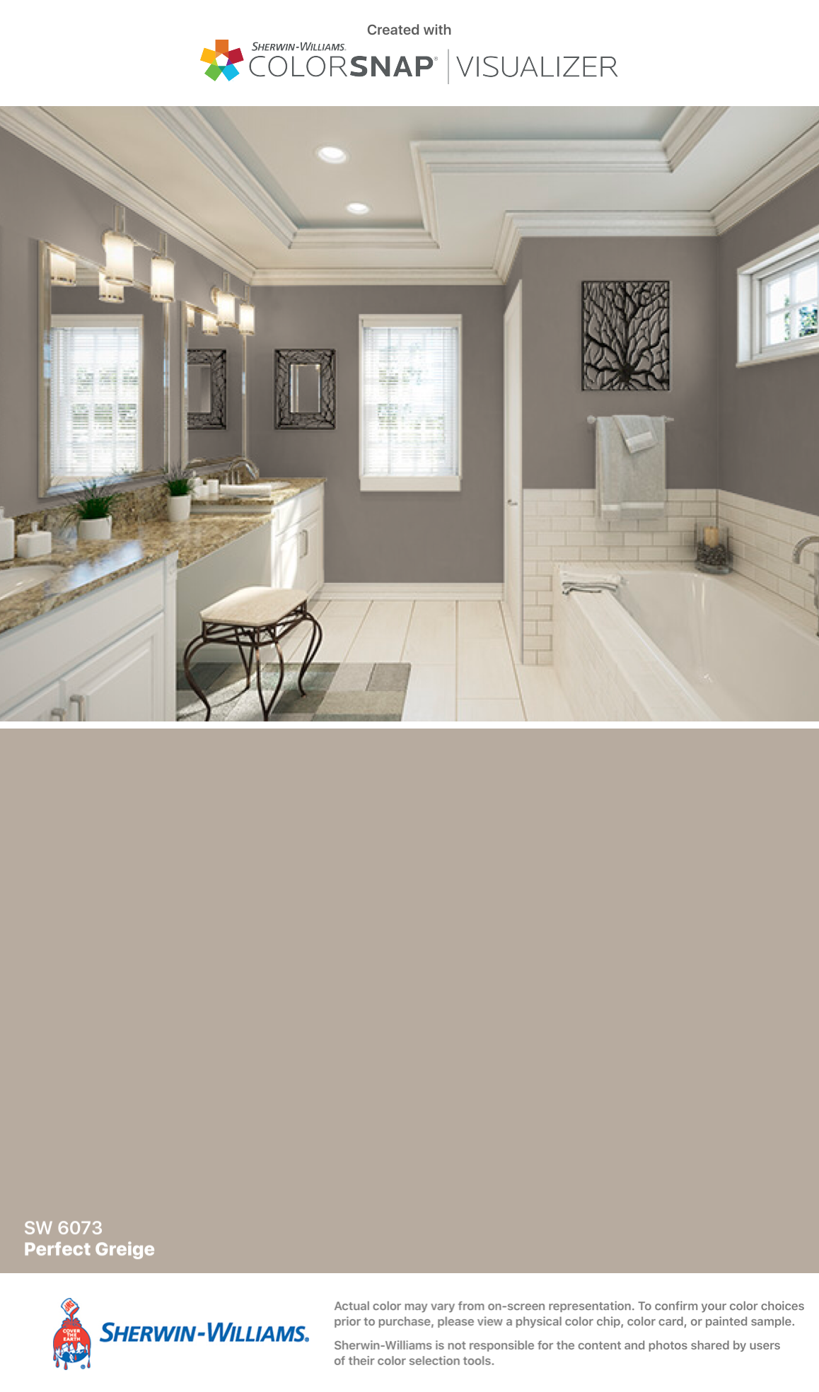 Sherwin williams perfect greige ideas pictures remodel - I Found This Color With Colorsnap Visualizer For Iphone By Sherwin Williams Perfect Greige Sw