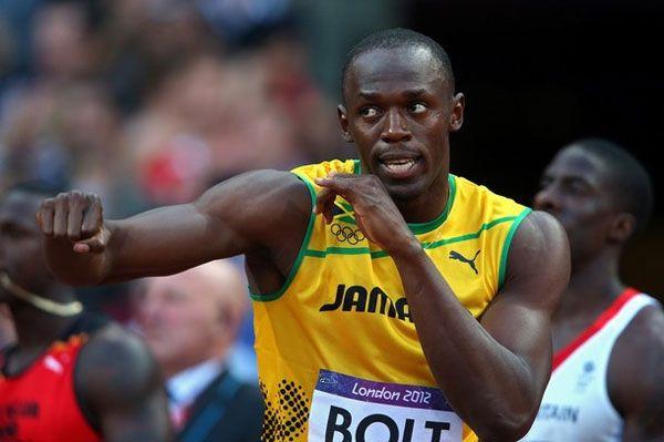 Usain Bolt, el hombre más rápido del planeta.