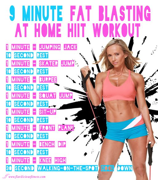 Fat burning workout for women fitness by