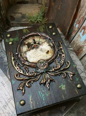 Altered Alchemy Gallery: Handmade Journals. Galeria amb 30 portades molt xaxis.