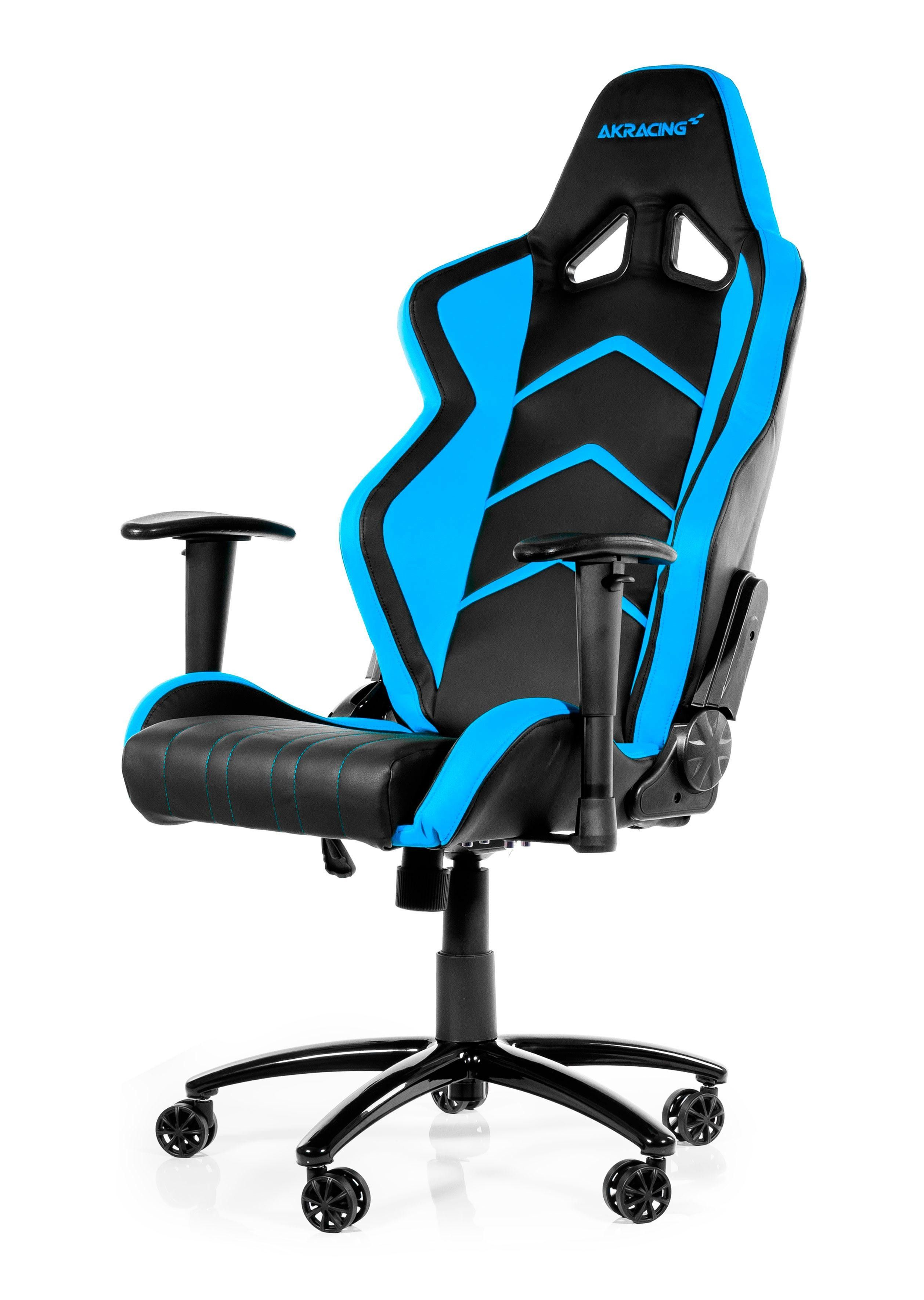 AKRACING Player Gaming Chair Black Blue WRGamers AKRacing  Gamer Stole  Gaming desk chair Office gaming chair og Gaming desk