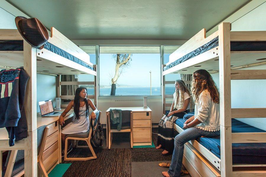 Image result for triple dorm room UCSB | habitat | Triple ...