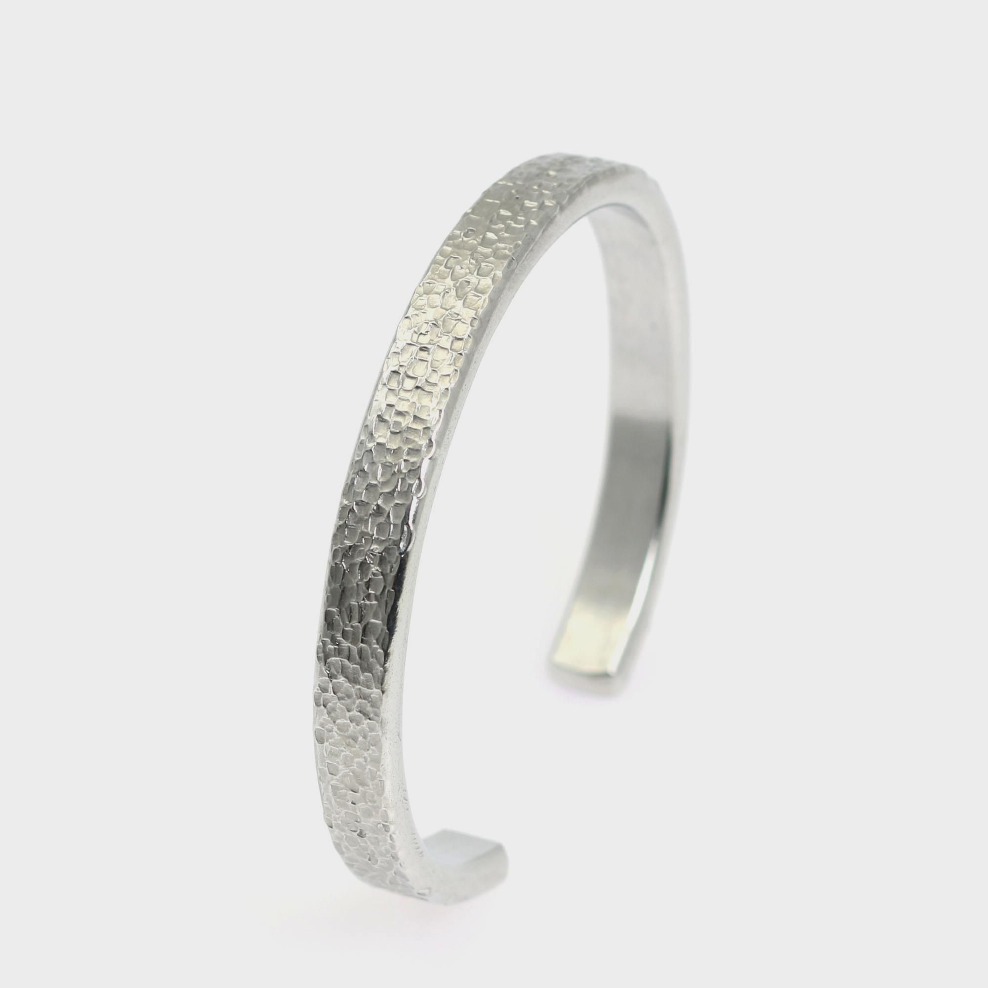 Just Listed Attractive 7mm Thin Texturized Silver Tone Cuff Bracelet Presented on #Amazon #Cuffs http://www.amazon.com/dp/B01AISTNNS
