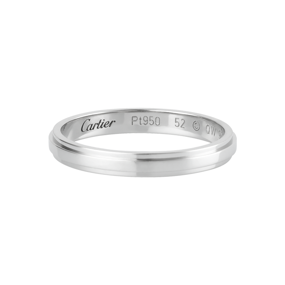 Cartier D Amour Wedding Band Groom 2 5mm Aksesoris