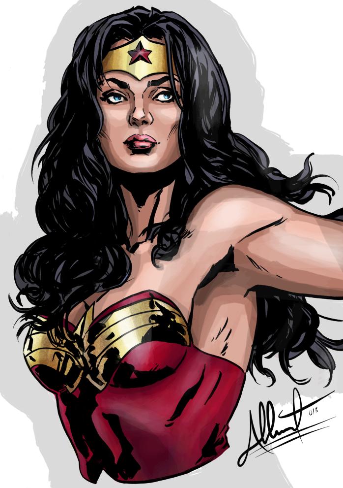 She S A Wonder By Exeryus On Deviantart Wonder Wonder Woman Deviantart