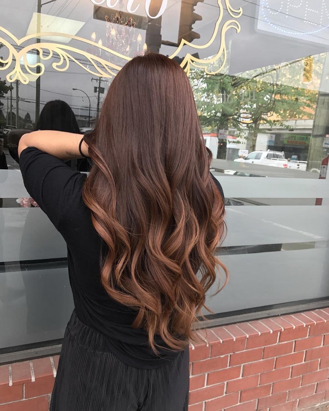Beautiful Balayage Brown Hair Ideas