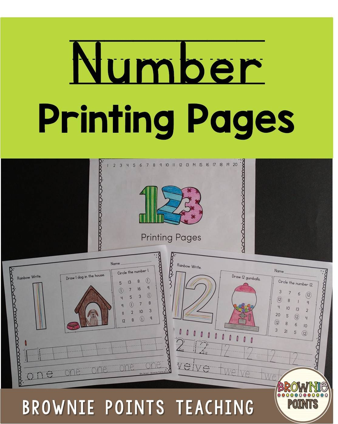 Number Printing Math