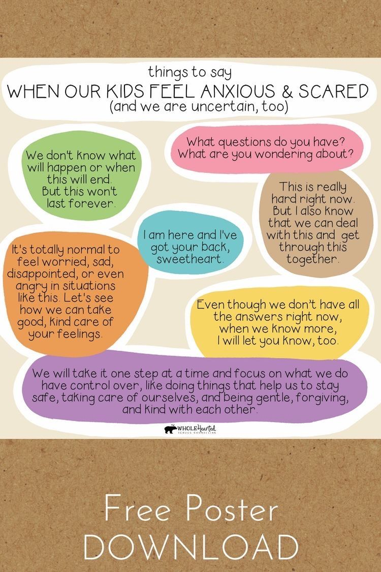 Supporting Children in Uncertain Times Free SEL Poster