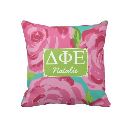 Sentimental Wedding Gift Ideas: Roses Throw Pillows...yeah... I Think I Need This (With
