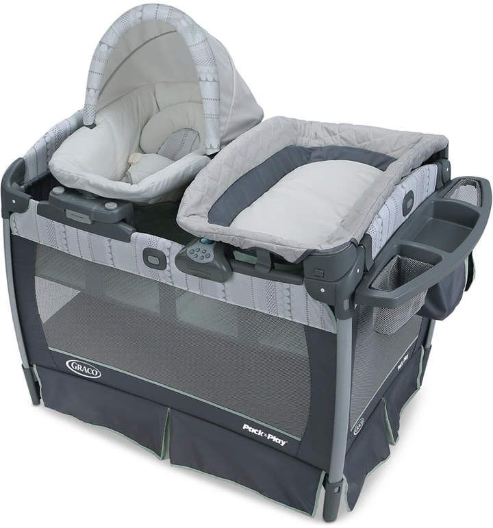 Graco Baby Pack N Play Playard With Nuzzle Nest Sway Seat