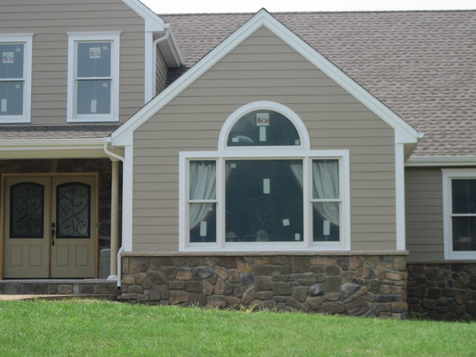 James hardie select cedar mill siding manufactured by for Exterior vinyl siding