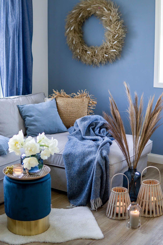 Trendfarbe 8: Wohnzimmerdeko in Classic Blue DEPOT