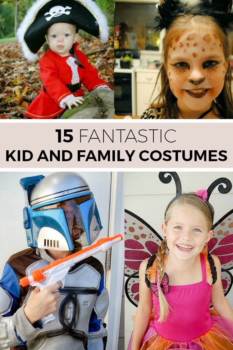 15 fantastic kid and family halloween costume idea | simple moments