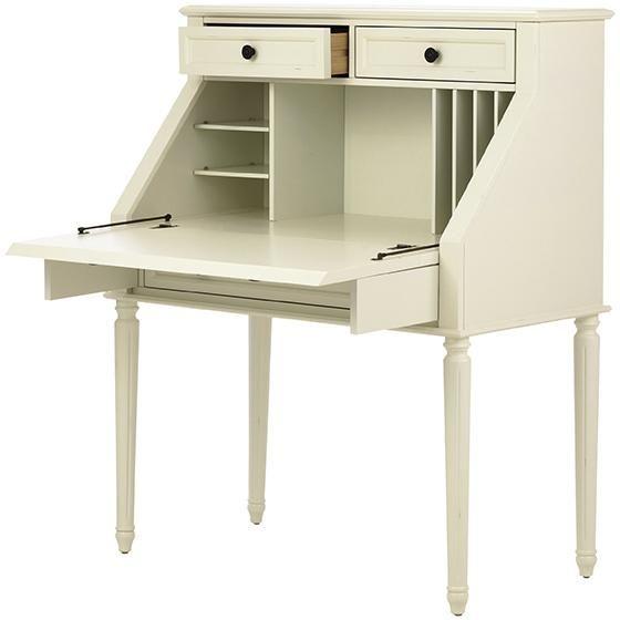 Martha Stewart Living Ingrid Small Secretary Small Secretary Desk Secretary Desks Small Secretary Desk Secretary Desks Grey Desk