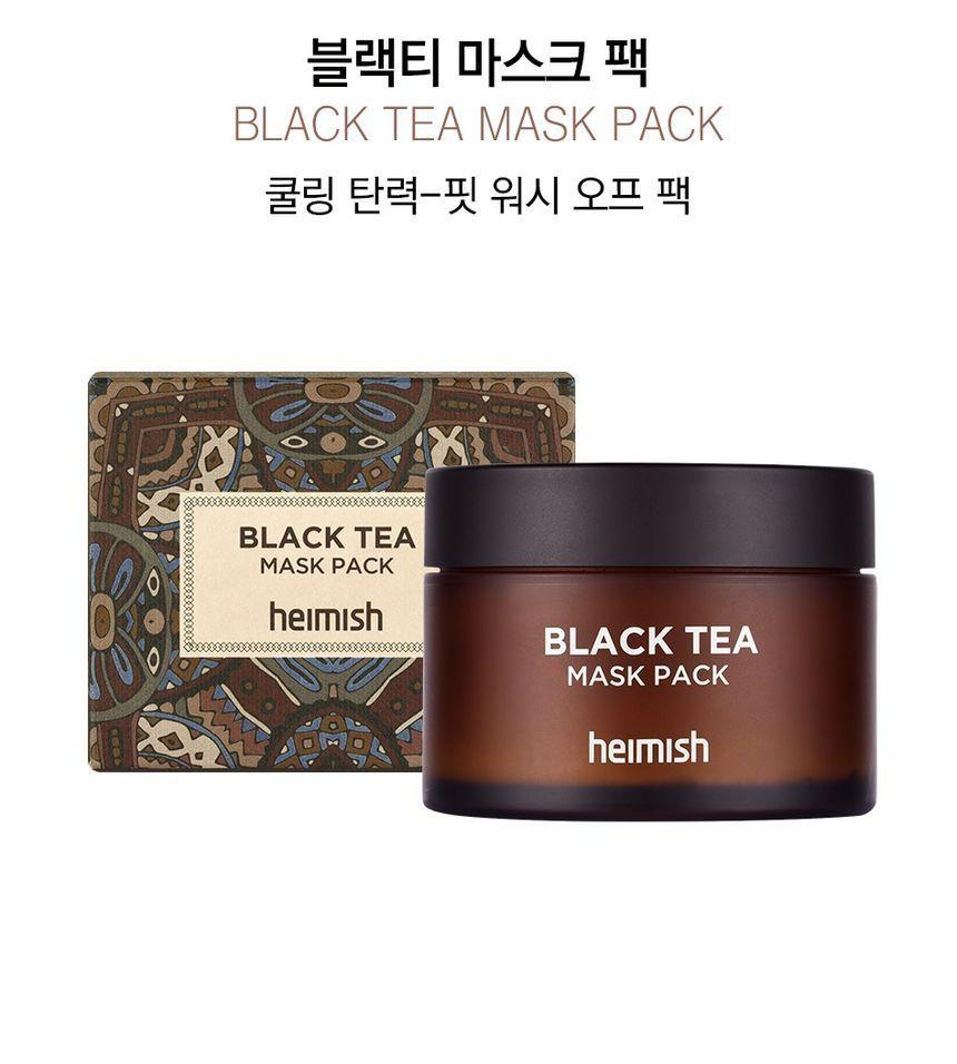 Heimish Black Tea Mask Pack 110ml Black Tea