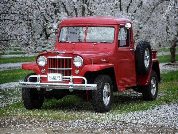 Willys Truck Chrome Bumper Parts 023 Dennie Farris 1954 Willys