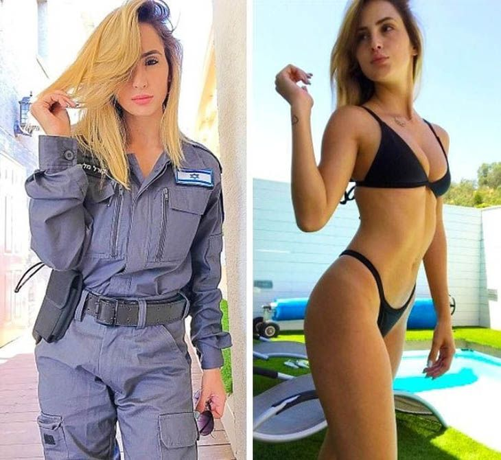 Armed Ready To Serve: The Hottest Women Of The Israeli Army In And Out Of