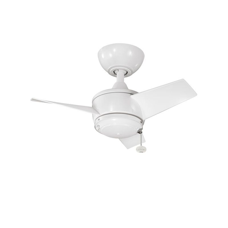 Yur 24 outdoor ceiling fan with 3 blades includes 4 downrod lighting