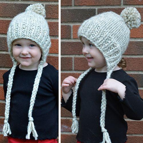 We Like Knitting Split Brim Toddler Hat Free Pattern Knit