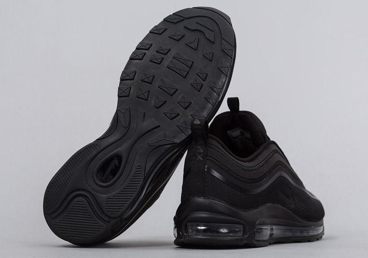Air Max 97 Ultra 17 Triple Black Black Nikes Triple Black