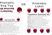 How to Make a Survival Kit for a Teacher - Sherri Osborn
