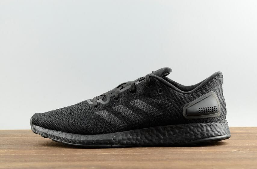 low priced b7f59 f1541 Authentic Adidas Pure BOOST DPR Leisure Running Mens Shoes S81008 All Black   40-45