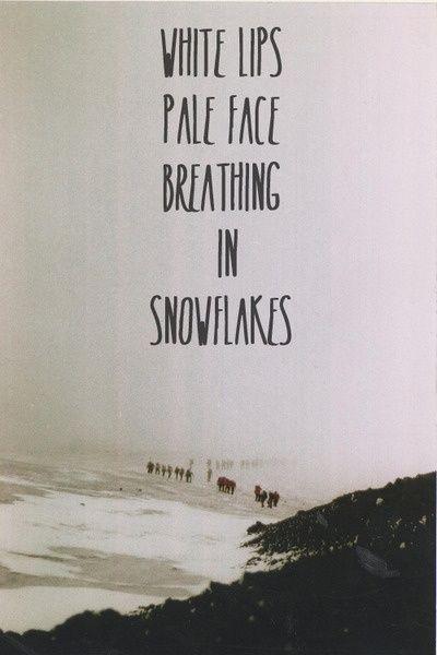 Breathing slowly lyrics