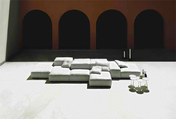 Piero Lissoni for Living Divani extrasoft for outdoor ...