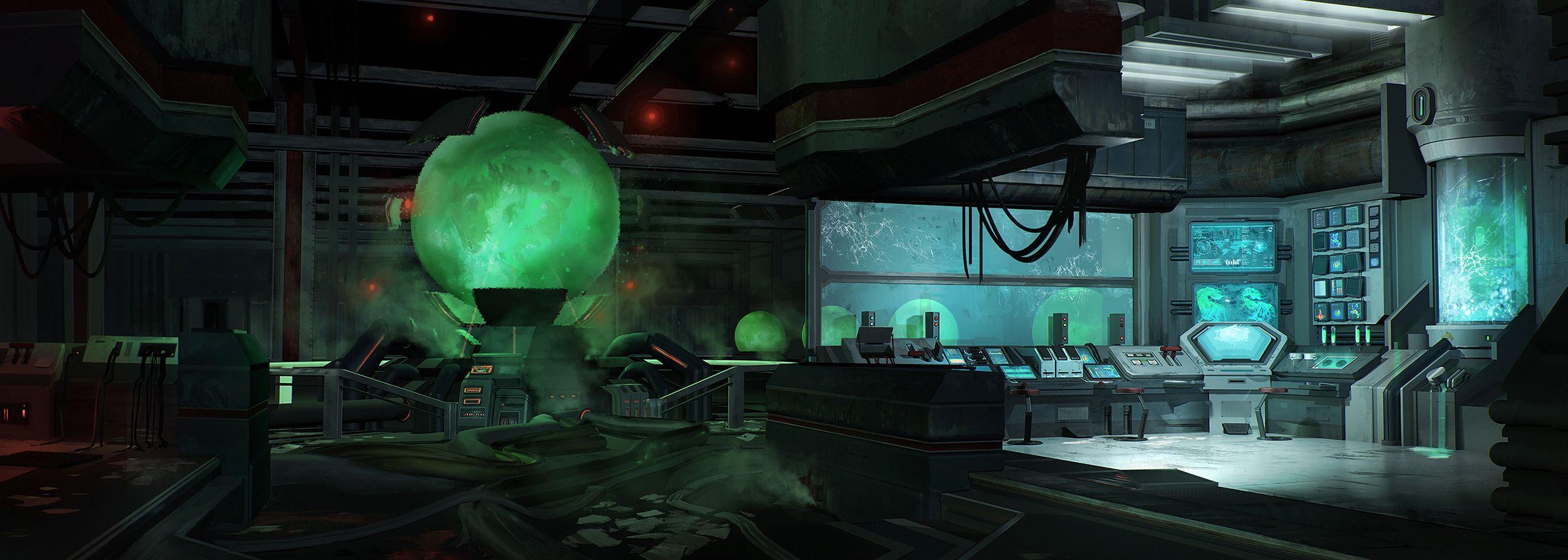 Underground Dino Laboratory by FranklinChan.deviantart.com ...