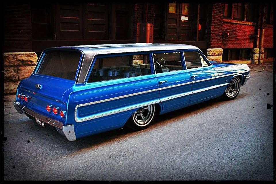 1963 Chevrolet Impala Station Wagon Station Wagon Cars
