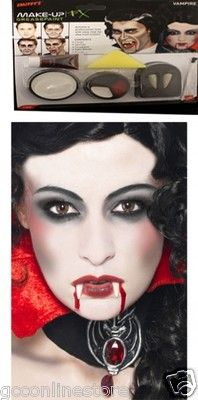 Gothic Halloween Face Painting | Halloween Vampire Gothic Horror ...