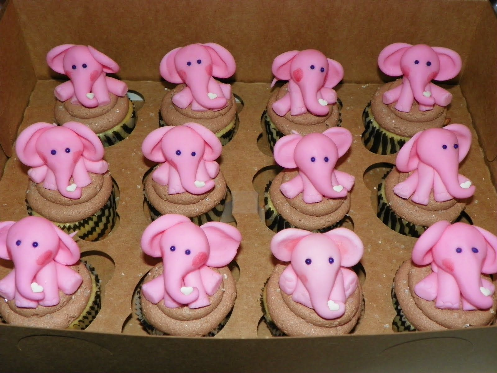 Baby Shower Cupcakes Elephant ~ The best elephant cupcakes ideas on pinterest