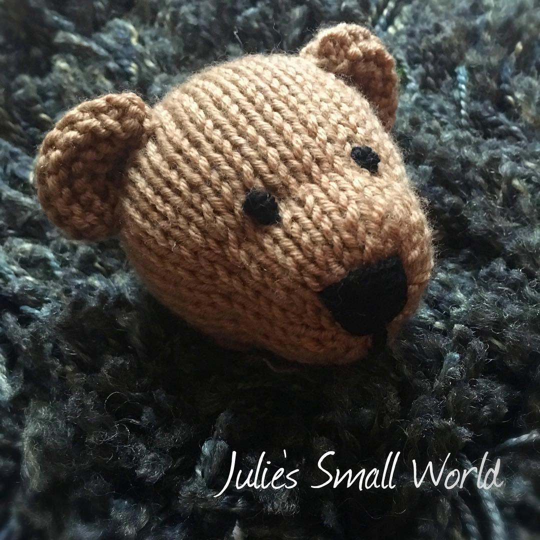 Progress shot of my bear from #littlecottonrabbits 😍🐻 The pattern ...