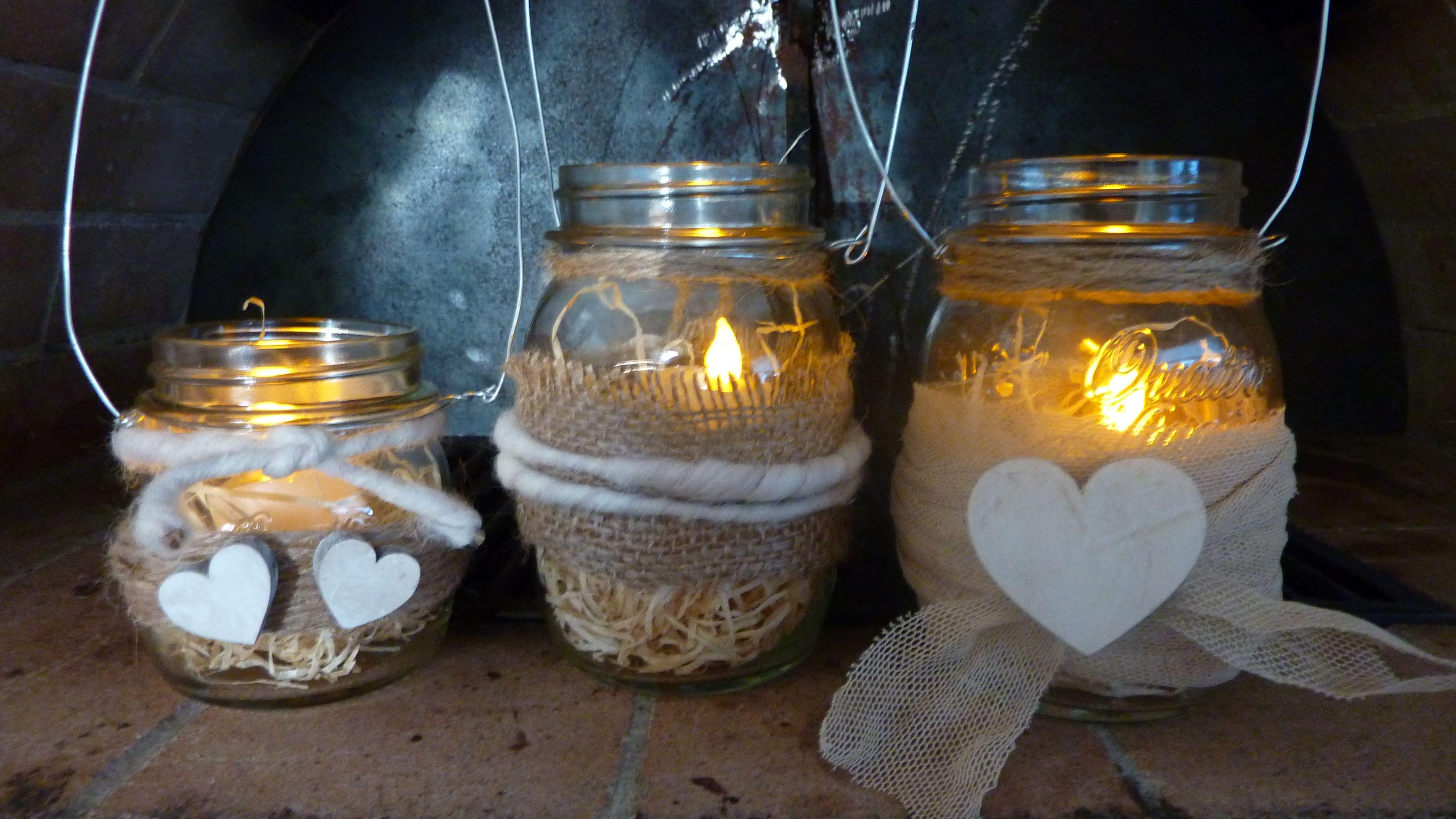 Lanterne Fai Da Te Tutorial Diy Home Decor Christmas Candles