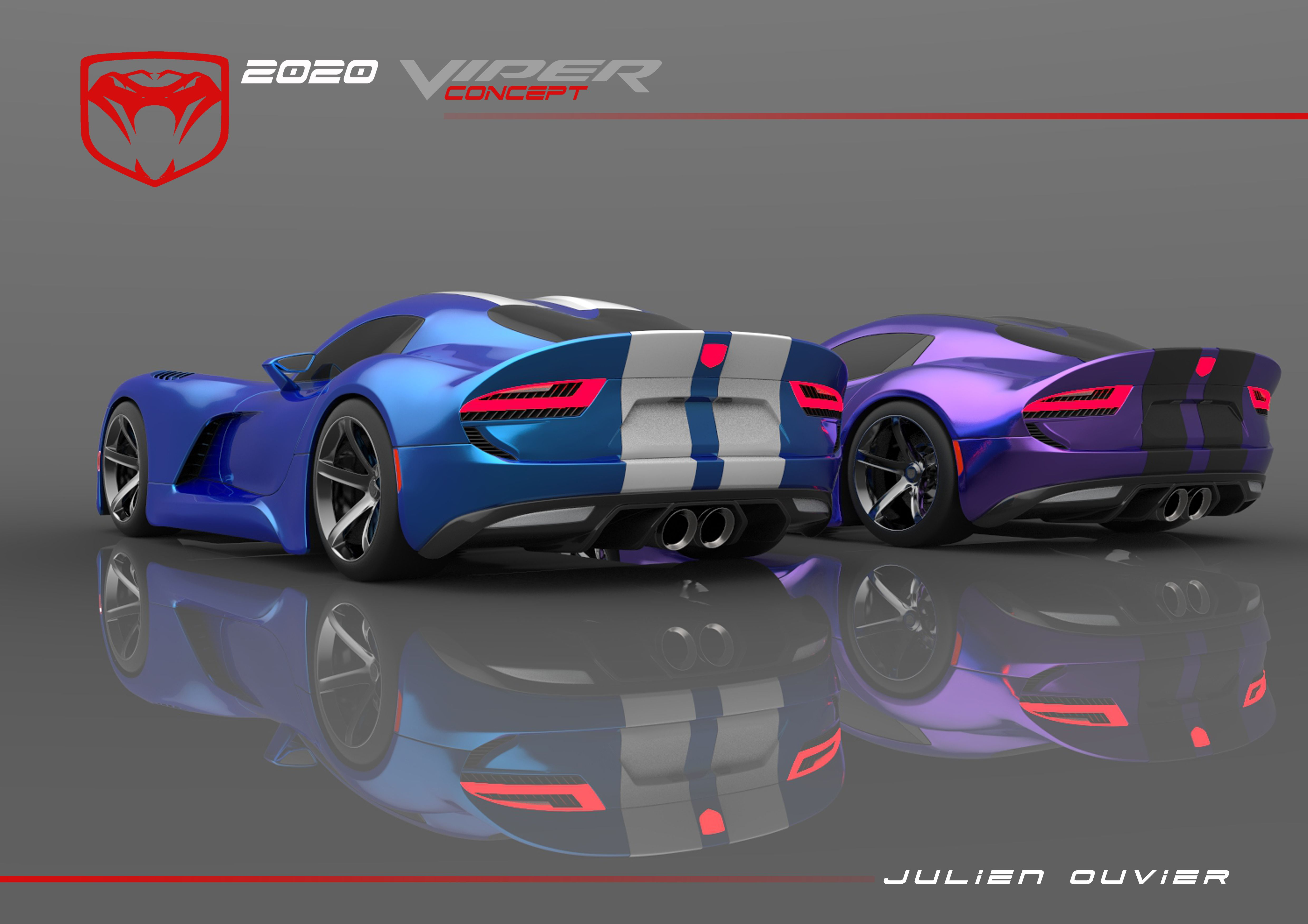 2020 Viper Concept By Julien Ouvier Copyrights Julien Ouvier Dodge Viper Dodge Nissan Skyline