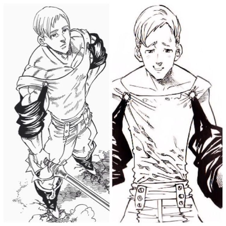 Escanor Night And Day
