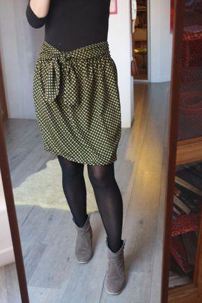 Patron gratuit jupe boule fille couture pinterest sy och inspiration - Patron jupe elastique fille ...