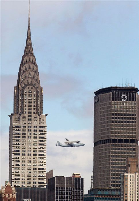 The Shuttle over NYC