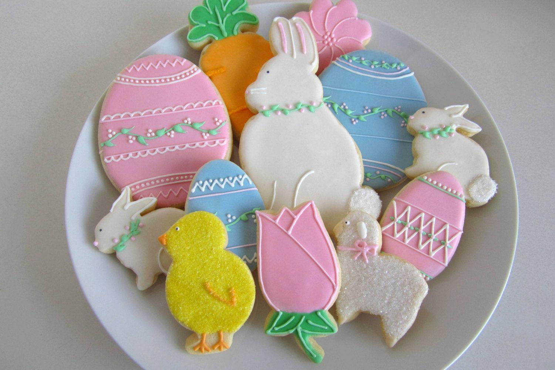 Easter Sugar Cookie Basket | Easter cookies, Easter sugar ...