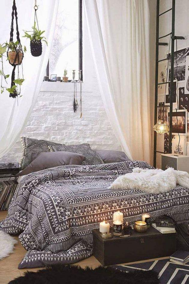 Dormitorios sin cabecero 15 ideas geniales Pinterest Sin