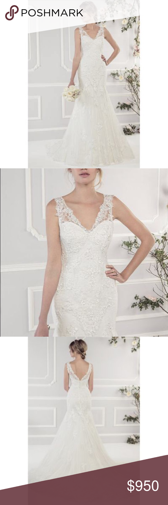 Ellis Bridals Beautiful Ivory Wedding Dress Ivory Wedding Dress Wedding Dresses Ellis Bridal