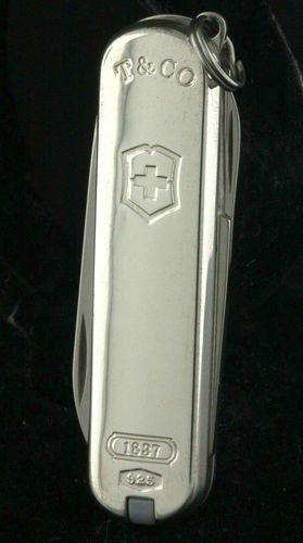 8 Victorinox Swiss Army Knife In Sterling By Tiffany Amp Co