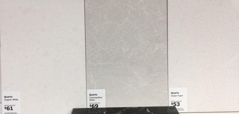 Ikea White Quartz White Quartz Design White