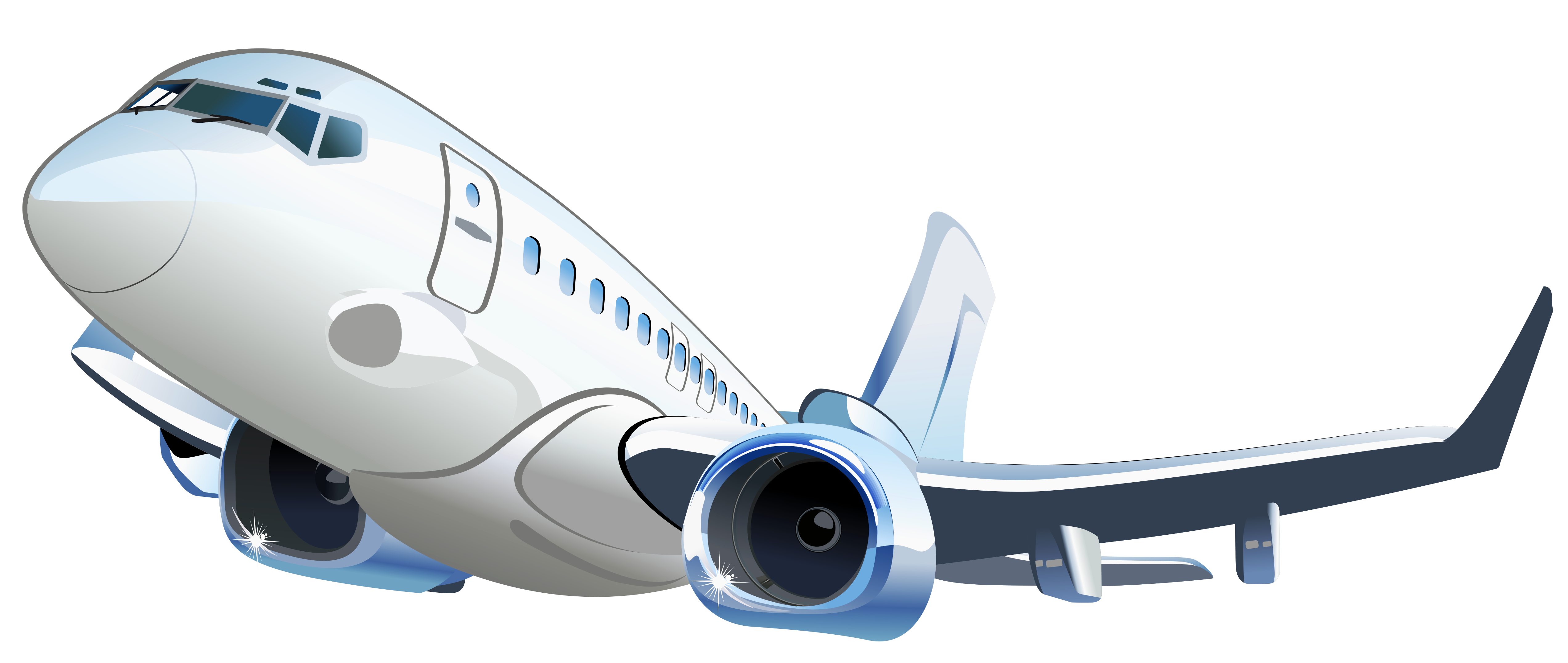 Airplane Transparent Vector Clipart Gallery Yopriceville High Quality Images And Transparent Png Free Clipart Clip Art Cartoon Airplane Clipart Gallery