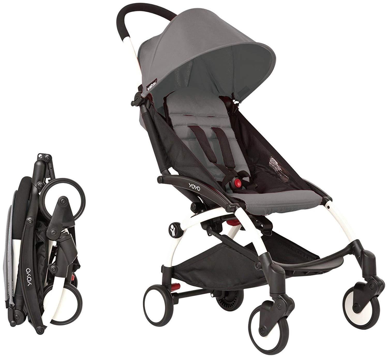Babyzen yoyo complete stroller white frame grey Yoyo