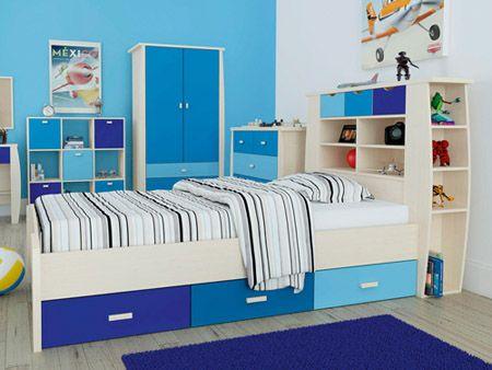 Sydney Blue Single Bed - £230